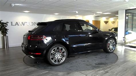 porsche macan all black porsche macan turbo black black lawton brook