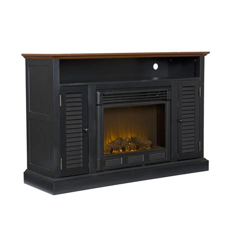 media console fireplaces sei antebellum media console with electric