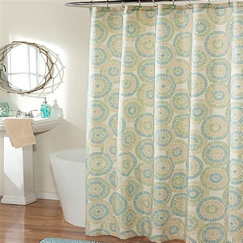 glass shower curtain buy ringo sea glass shower curtain from bed bath beyond