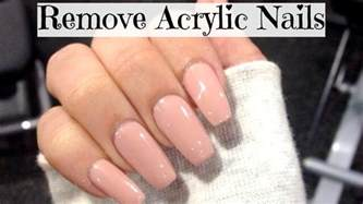 how to remove acrylic nails at home easy shona forsey
