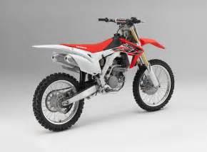 Honda Cfr 2016 Honda Crf Motocross Bikes Announced Motorcycle News