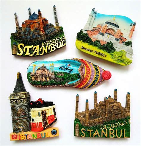 Souvenir Magnet Kulkas Turki 2 istanbul turkey mosque 3d high end made painted shoes fridge magnets travel souvenirs gift