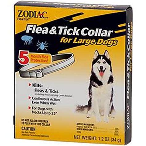 puppy flea collar zodiac flea collar large dogs nycpet
