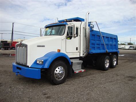 Kenworth Dump Trucks For Sale