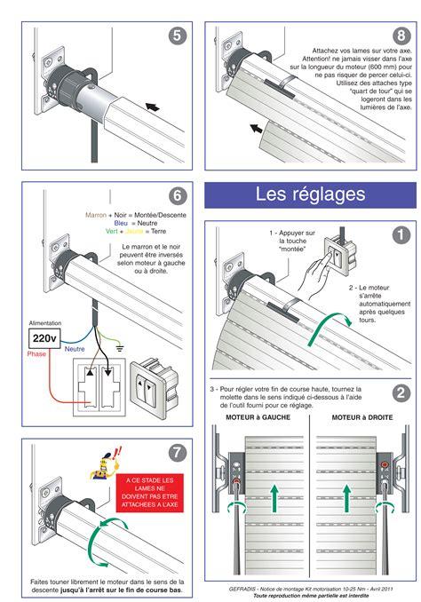 Poser Un Volet Roulant 1215 by Comment Poser Mon Moteur De Volet Roulant Gefradis