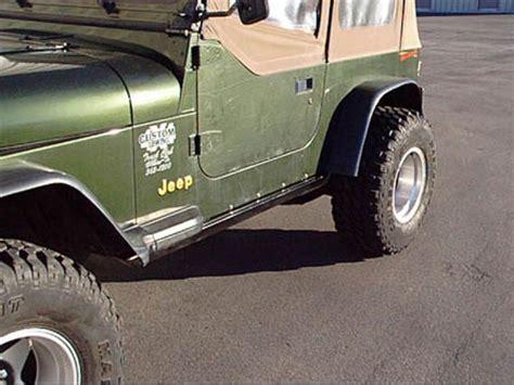 Jeep Yj Rock Sliders Jeep Wrangler Tj Rockrails Rock Sliders Supersliders Ebay