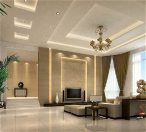 Jhumar In Living Room Gypsum Board False Ceiling Designs For Minimalist Living