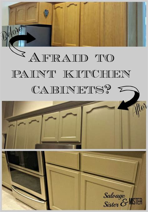 easy way to paint kitchen cabinets are you afraid to paint your kitchen cabinets kitchens