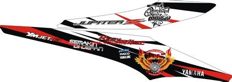 Sticker Striping Motor Stiker Yamaha Jupiter Mx Vr46 Spec B jupiter mx club stikermotor net