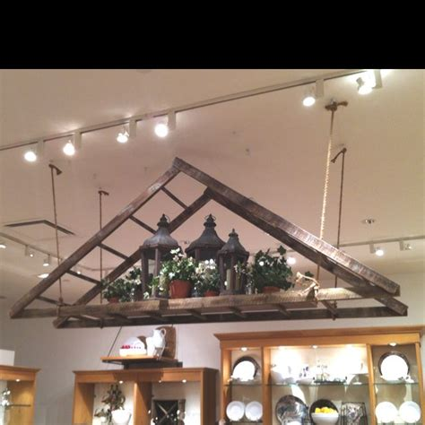 hanging a ladder from the ceiling best 25 hanging ladder ideas on decorative
