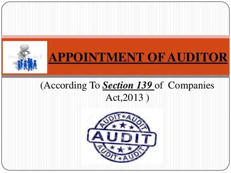 section 21 of the companies act appointment of auditor