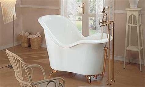 sitting bathtubs soaking tub from gruppo treesse the nostalgic moulin