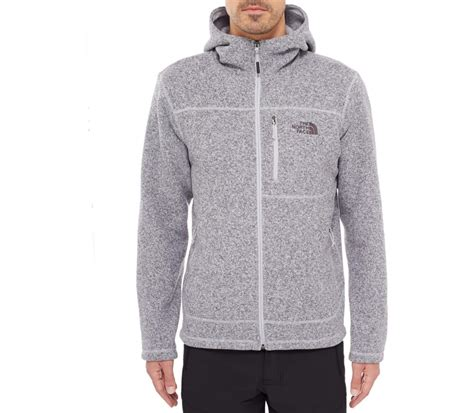 Knitted Jacket Light Gray 61468 the gordon lyons hoodie s knitted fleece