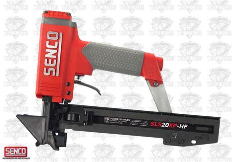 Hardwood Flooring Tools Senco Sls20xp Hf 19 Ga 3 16 Quot Crown 1 Quot Hardwood Flooring Stapler