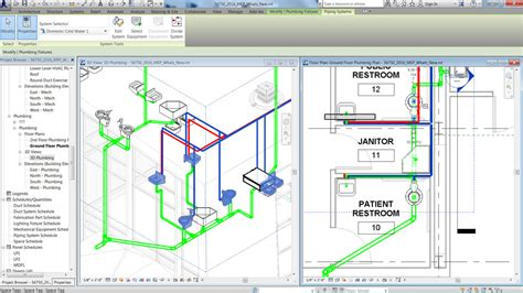 Plumbing Design Calculation by Building Design Construction Revit Family Autodesk