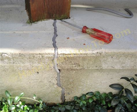how to fix a cracked how to repair a cracked concrete patio part 2