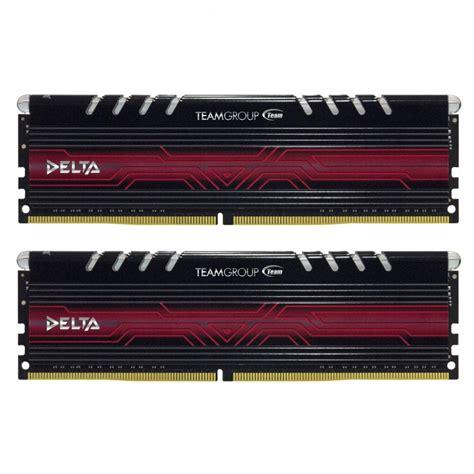 Team Delta 8gb Kit Ddr4 2400mhz team delta 8gb kit ddr4 2400mhz blossom toko komputer malang
