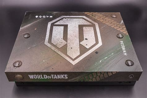 console world world of tanks custom xbox one x console giveaway