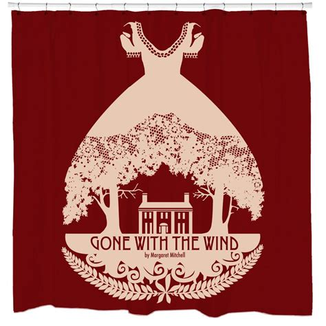 gone with the wind curtains gone with the wind shower curtain sharp shirter