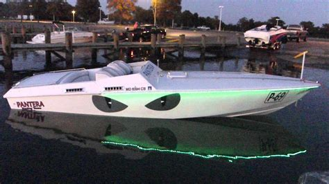 pantera boats for sale pantera boat 24 led youtube