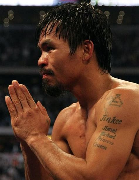 manny pacquiao tattoo tatuajes de guantes de boxeo design bild