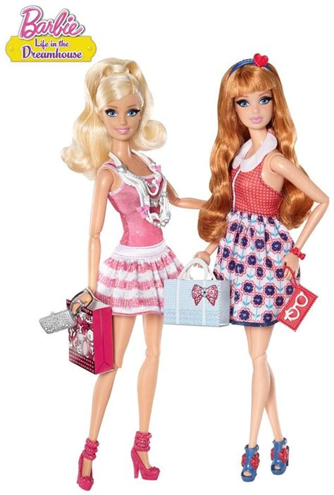 barbie life in the dreamhouse doll house barbie life in the dreamhouse barbie 174 and midge 174 2 pack