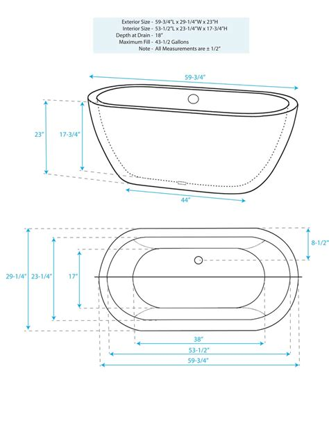 how many gallons is a standard bathtub standard size bathtub how long is a standard bathtub