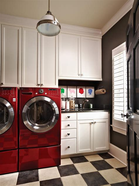 Laundry Room Decor Ideas Beautiful And Efficient Laundry Room Designs Decorating And Design Ideas For Interior Rooms Hgtv