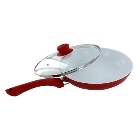 ceramic induction fry pan 24cm non stick ceramic coated aluminium pan frying induction kitchen cookware ebay
