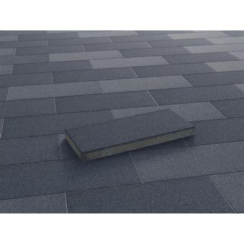 fliese 20 x 20 terrassenplatte beton denver anthrazit wassergestrahlt 60