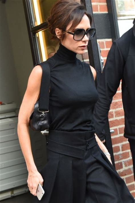 is victoria beckham thinning scary skinny victoria beckham bares toothpick arms in nyc