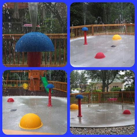 backyard splash park pin by my splash pad on places we have traveled to install
