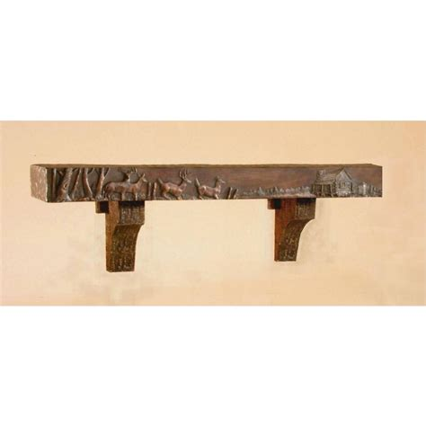 Mantel Corbels Smoky Mountain Mantel Corbels 122702 Decorative