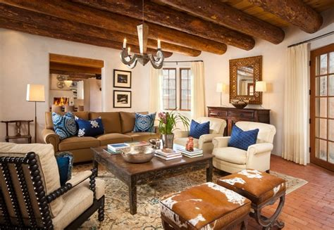 southwestern living rooms sante fe historic southwestern living room other by violante rochford interiors
