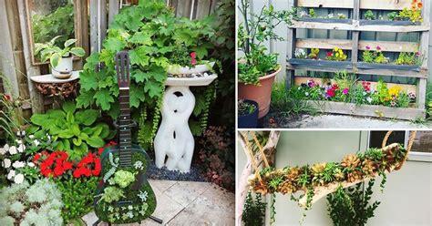 funky diy garden ideas  steal  instagram