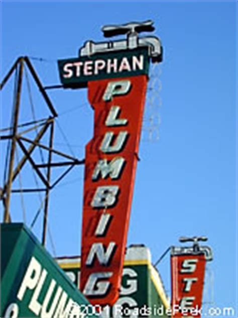 Stephan Plumbing Commercial by Roadside Peek Other Roadside Signage Southern California 2