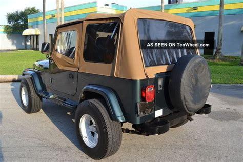 wide stance jeep 1993 jeep wrangler sahara auto 31 inch tires wide