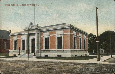 Post Office Jacksonville by Post Office Building Jacksonville Il Postcard