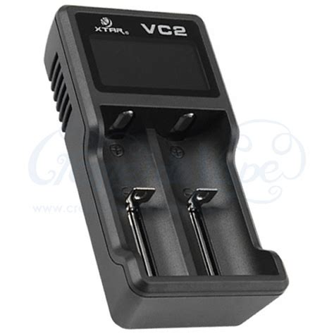 Xtar Vc2 Premium Micro Usb Battery Charger 2 Slot For Li Ion And Ni Mh xtar vc2 charger creme de vape