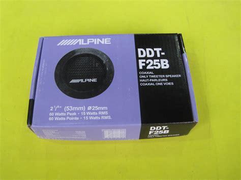 Tweeter Alpine Ddt F25b alpine ddt f25b car speaker car tweeters audio wholesale