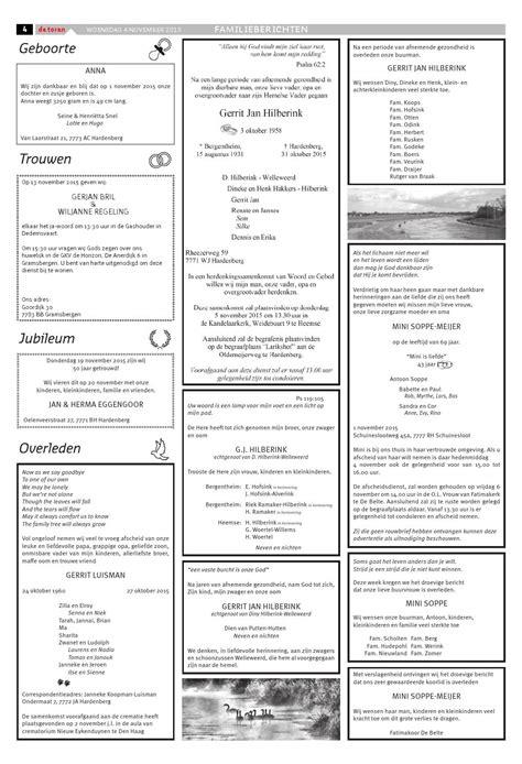 De Toren Week 49 2015 By Weekblad De Toren Issuu by De Toren Week 45 2015 By Weekblad De Toren Page 4 Issuu