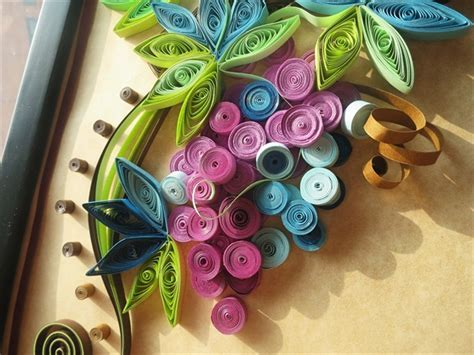 Wonderful handmade creative paper flower photo frame