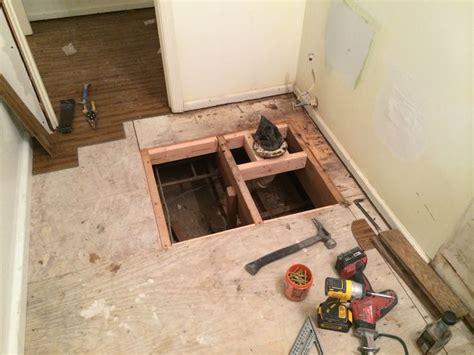 diy bathroom floor replacement 10 best replace bathroom subfloor images on pinterest