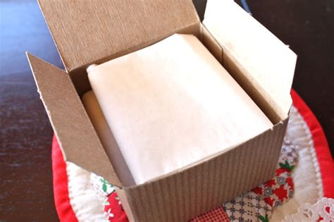 How To Fold Tissue Paper In A Box - mish mash yum dum treat boxes