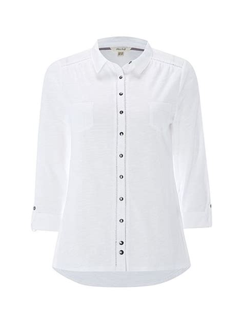 house of fraser ls white stuff pearl ls jersey shirt white house of fraser