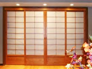 japanese doors japanese room dividers cherry tree design