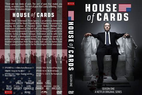 House Of Cards Dvd house of cards s1 cover tv dvd custom covers house