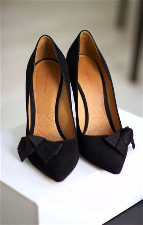 black high heels with a bow shoes black black heels style pumps bow high heels