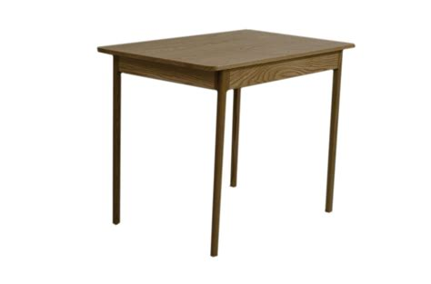 Modern Style Dining Tables Custom Made Mid Century Modern Style Dining Table Apartment Size Solid Wood Oak By