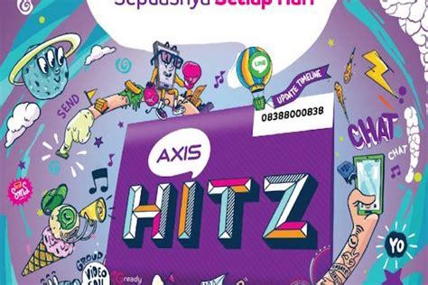 kartu axis hitz terbaru majalah ict sasar anak muda millennial xl tawarkan